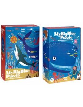 My Big Blue puzzel 3+ jaar - Londji