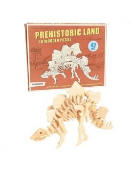 Dino houten 3D puzzel...