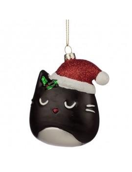 Kat kersthanger decoratie