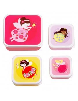Elfjes snackdoosjes set van 4 - A Little Lovely Company
