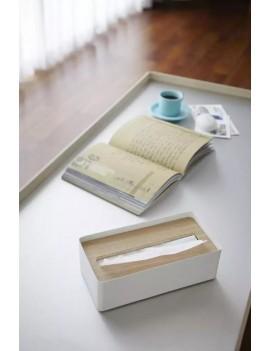 Tissue box zakdoekendoos wit - Yamazaki