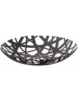 Design fruitschaal zwart metaal - Yamazaki