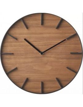 Houten klok zonder cijfers - Yamazaki