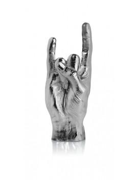 You rock beeldje zilver - Bitten Design