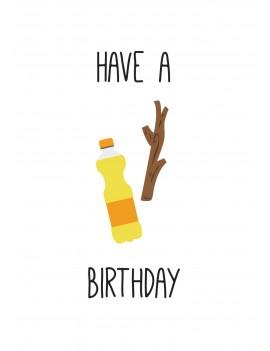 """Pakket van 10: Verjaardagskaart """"Fantastic"""""""