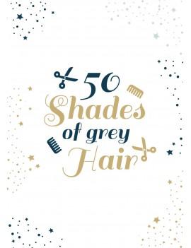 Pakket van 8: Verjaardagskaart grey hair