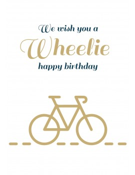 Pakket van 10: Wheelie happy birthday