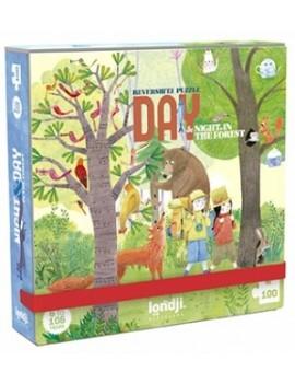 Pocket puzzel dag en nacht 6+ jaar - Londji