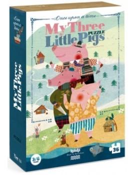 My three little pigs puzzel 3+ jaar - Londji