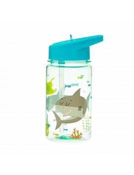 Hersluitbare drinkfles haai - Sass & Belle