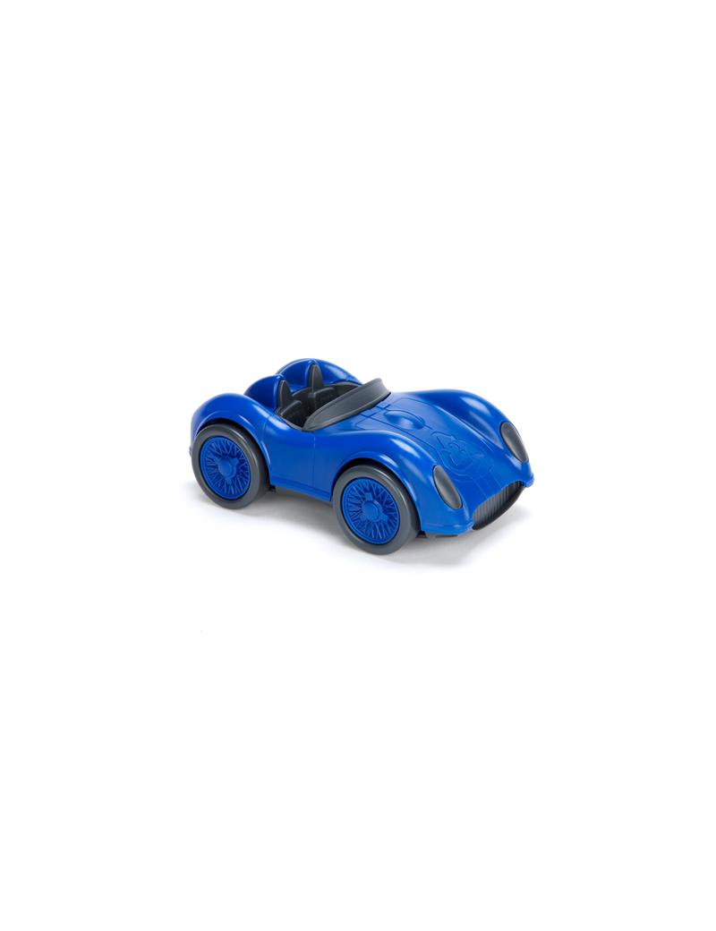 Speelgoed race auto blauw - Green Toys