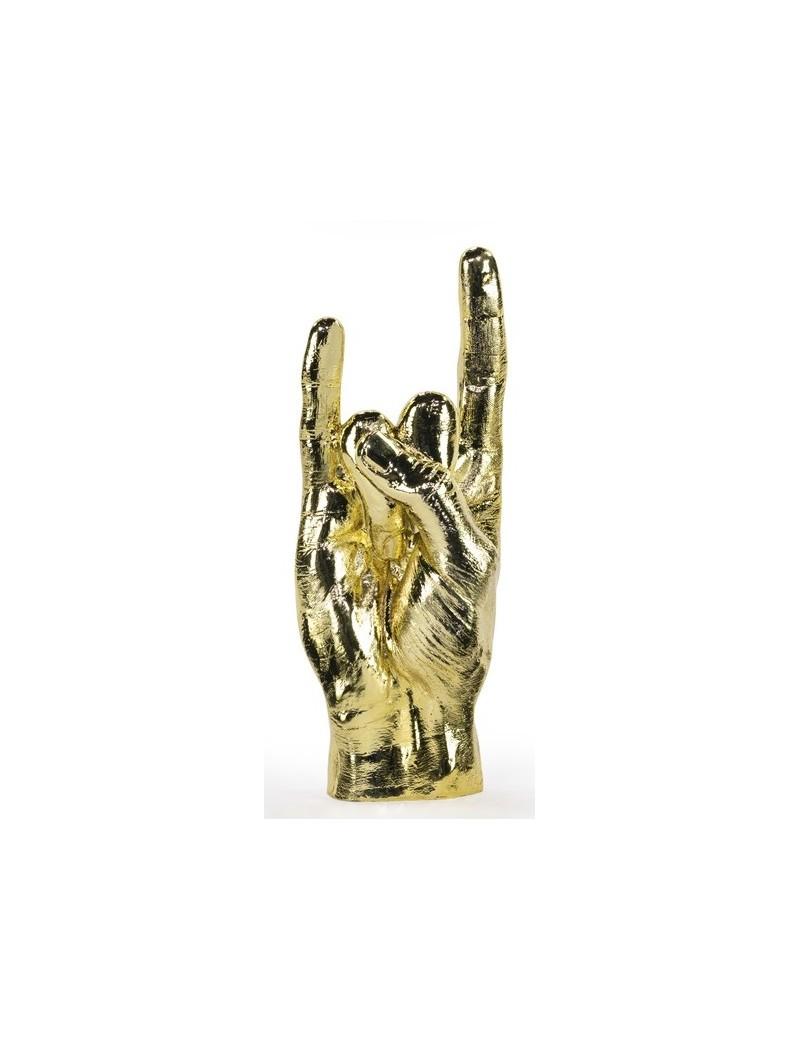You rock beeldje goud - Bitten Design