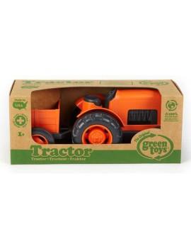 Speelgoed tractor met aanhangwagen - Green Toys