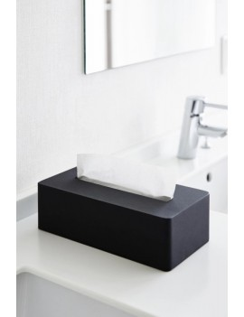 Tissue box zwart - Yamazaki
