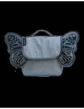 Kleuter rugzak met vleugels blauw - Caramel et Cie