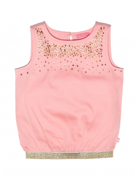 top met pailletjes Gold & Rose (86/92) - Lebig