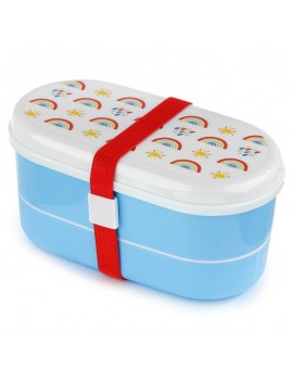 Regenboog bento box - Puckator