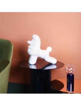Poedel lamp uit porselein - &Klevering