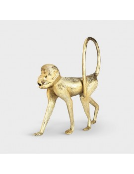 Gouden beeld aap - &Klevering