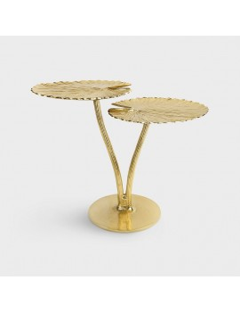 Gouden bijzettafel waterlelie - &Klevering