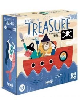 Discover the treasure (3+) - Londji