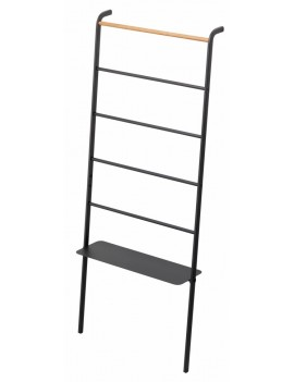Brede ladder kapstok zwart - Yamazaki