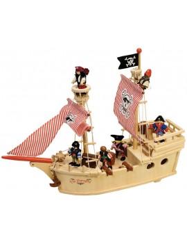 Houten piratenschip - Green Toys