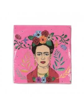 Frida Kahlo servetten - Talking Tables