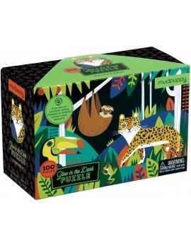 Jungle puzzel glow in the dark - Mudpuppy