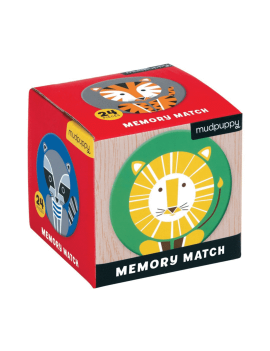 Jungle memory spel - Mudpuppy