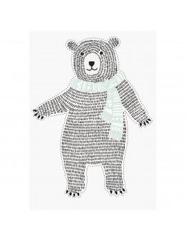 muursticker Bear - Bloomingville