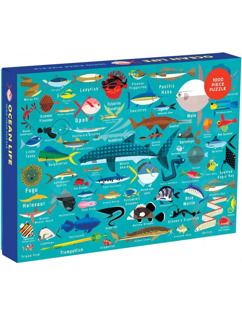 Oceaan puzzel - Mudpuppy