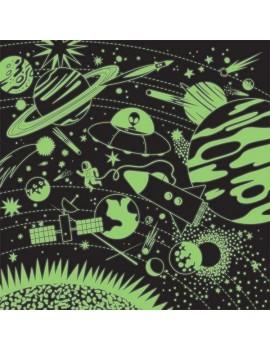 Grote ruimte puzzel glow in the dark - Mudpuppy