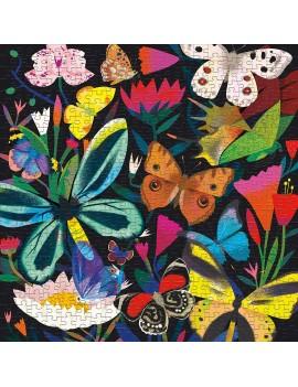 Grote vlinder puzzel glow in the dark - Mudpuppy