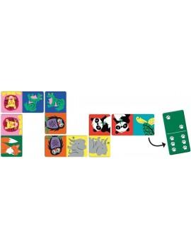 Jungle domino spel - Mudpuppy