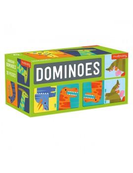 Dino domino spel - Mudpuppy
