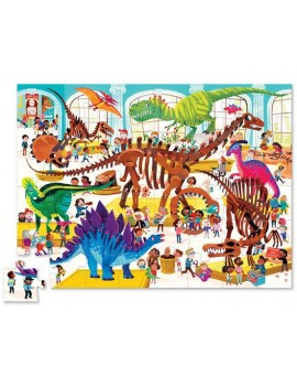 Dino puzzel day at the museum - Crocodile Creek