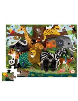 Jungle friends puzzel - Crocodile Creek