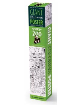 Grote kleurenposter wilde dieren - Crocodile Creek