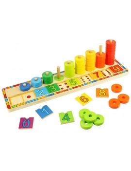 Leren tellen telraam - Green Toys