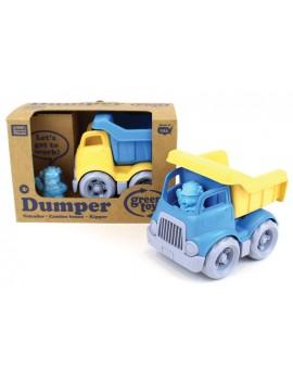 Kleine kiepwagen geel - Green Toys