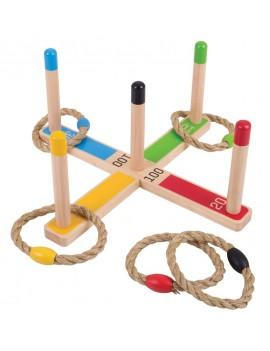 Houten hoefijzerspel voor kinderen - Green Toys