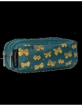 Pennenzak vlinders goud - Princesse Papillon - Caramel et Cie
