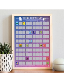 100 things to do with family bucketlist krasposter
