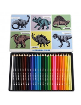 Dino kleurpotloden - 36 stuks