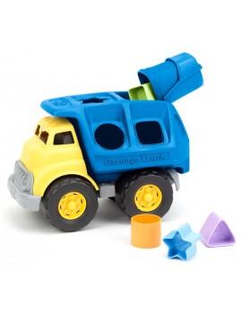 Speelgoed vrachtwagen met vormen - Green Toys