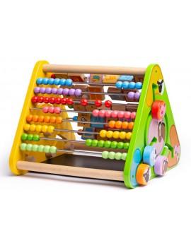 Telraam met letters en krijtbord - Green Toys