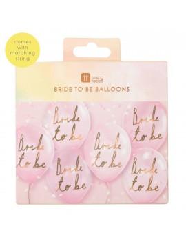 Bride to be ballonnen - Talking Tables