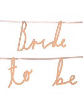 Bride to be slinger - Talking Tables