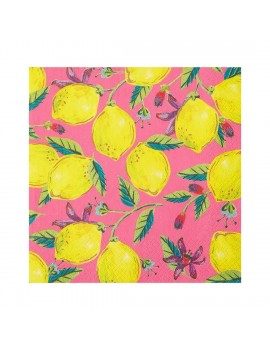 Boho servetten citroenen - Talking Tables